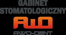 AWO-DENT logo z ciemnym napisem