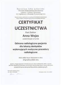 certyfikat awo-dent